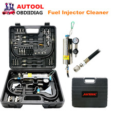 AUTOOL C100 C-100 Fuel Injector Cleaner Disassembly & On-car Fuel System Cleaner throttle injector cleaner For Petrol Cars