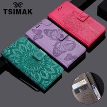 Tsimak Flip PU Wallet Case For Huawei Nova 3i P Smart Plus  Leather Phone Cover Coque Capa
