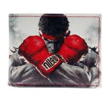 Street Fighter Faux Leather Bifold Wallet- 3