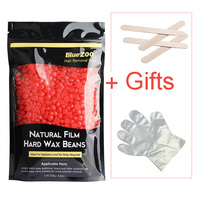 Beautome Men Women Depilatory Wax Facial Body Hair Removal Hard Wax Bean For Depilation With Tools