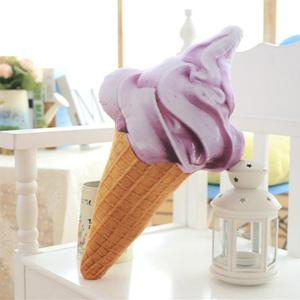 Image 5 - CAMMITEVER Creative 3D Ice Cream Shape Cushion Doll Plush Toy Pillow Bed Seat Use Home Decor Gift