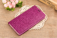 Ultra slim High Quality QIALINO design flip woman phone cover for iphone6/6s 4.7 real leather / wallet case,sexy crododile