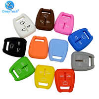 OkeyTech Silicone Fob Cover 3 Buttons Fit For Vauxhall Opel Astra Zafira Vectra Tigra Omega Signum Frontera Remote Car Key Case