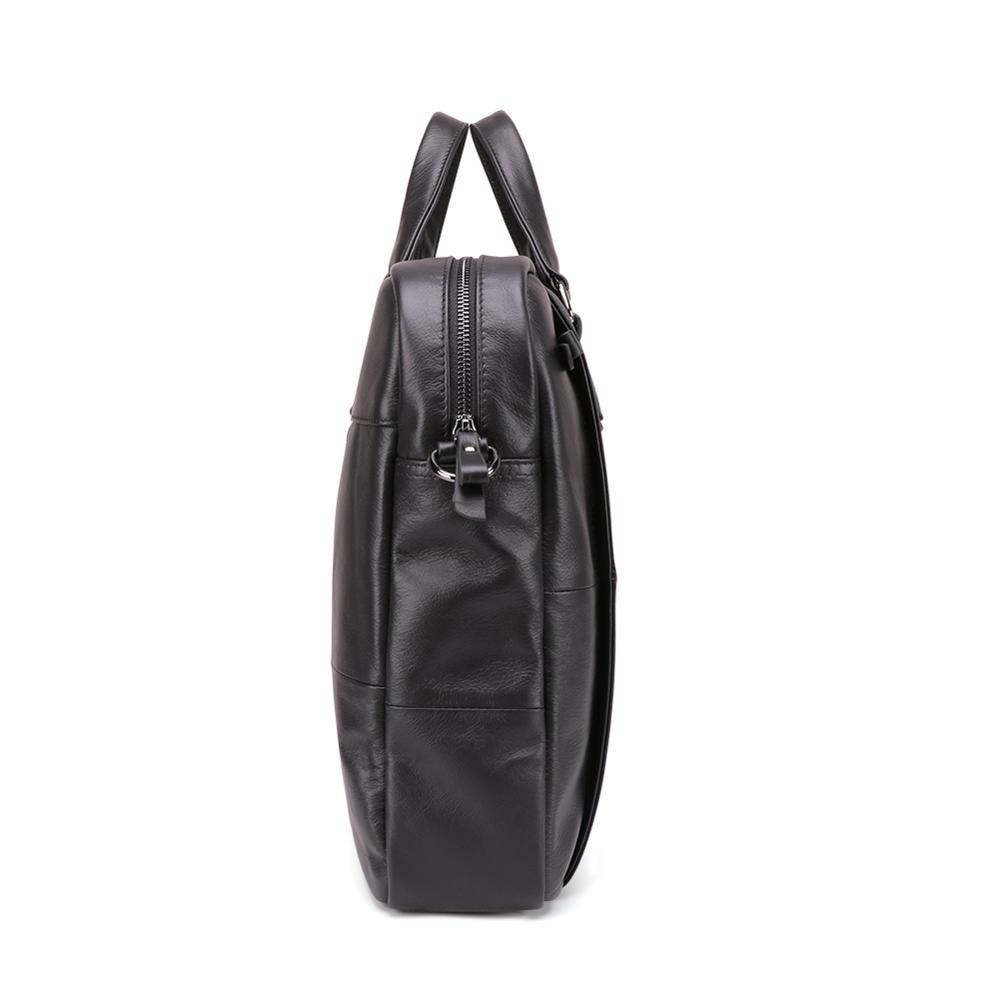 السفينة حرة الرجال حقائب المحامي حقيبة جلد طبيعي خمر محمول حقيبة حقيبة ساع عارضة حقيبة رجالية للمستندات-في حقائب جلدية من حقائب وأمتعة على  مجموعة 3