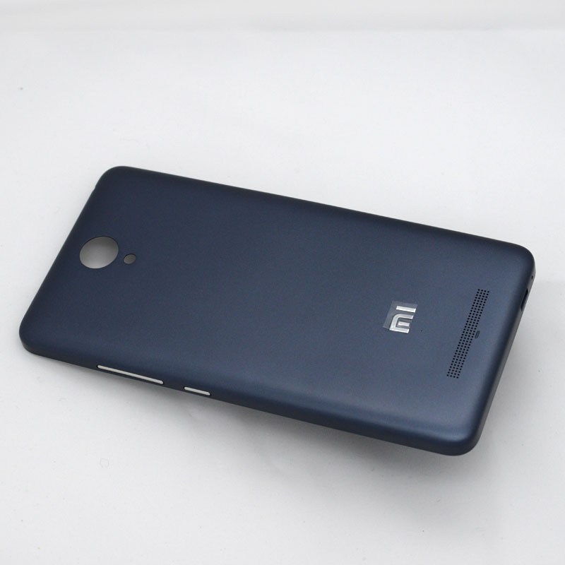 For Redmi Note 2 Matte Back Plastic Protector for Xiaomi Redmi Note 2 Battery cover Back Cover for Redmi Note2 Housing
