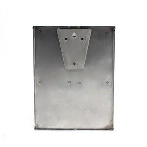 Image 4 - DONYUMMYJO New Chrome Finished Wall Mounted Soap Sanitizer Bathroom Washroom Shower Shampoo Dispenser