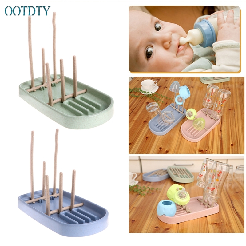 Foldable Baby Infant Feeding Bottle Cup Rack Drying Storage Drainer Stand Holder #330