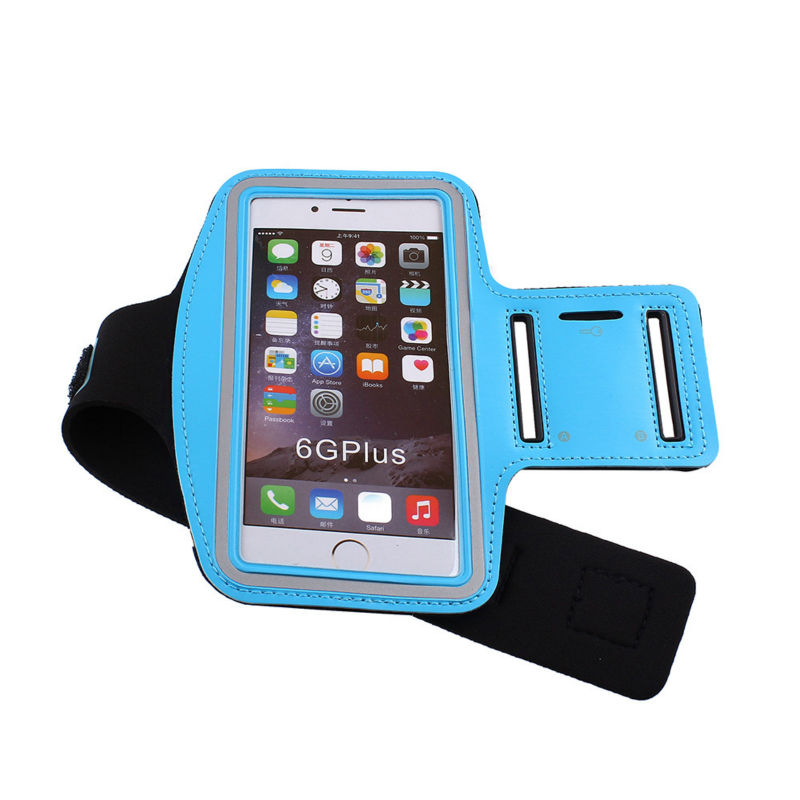Dir-Maos For iPhone 8 Plus Arm Band Case 5.5 Pouch Sport Carring Bag Fashion Waterproof Cover Run Gym Belt Easy Take Pocket