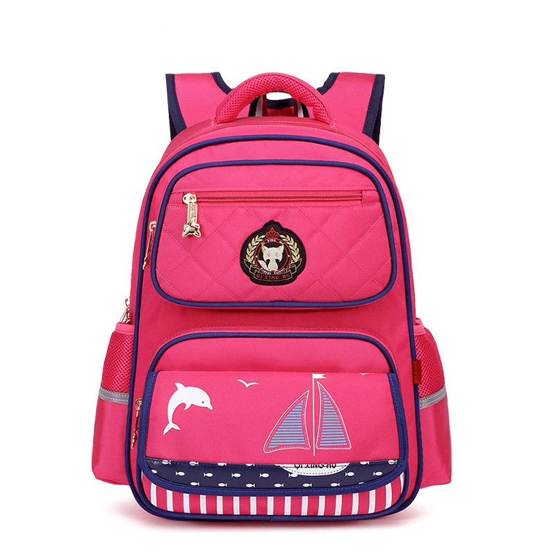 New 2018 Cartoon Oxford Bags Orthopedic Children School Bags For Girls And Boys Kids School Backpack Children Backpack School