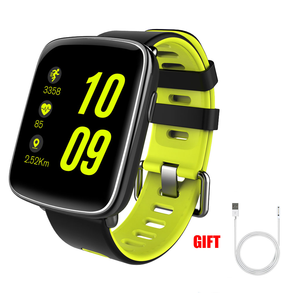 Kaimorui GV68 font b Smart b font Watches Waterproof Ip68 Heart Rate Monitor Bluetooth font b