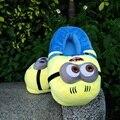 3D Despicable Me Minion Stewart altura Zapatos de Invierno Cálido zapatillas Casa De Juguete de Felpa Slipper Un Tamaño Doll ctx13