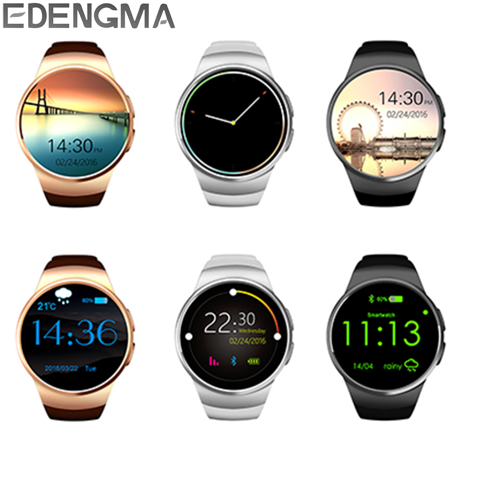 Smart Watch KW18 Bluetooth Phone Watch Support SIM Card SD Card with Heart Rate Sleep Monitor