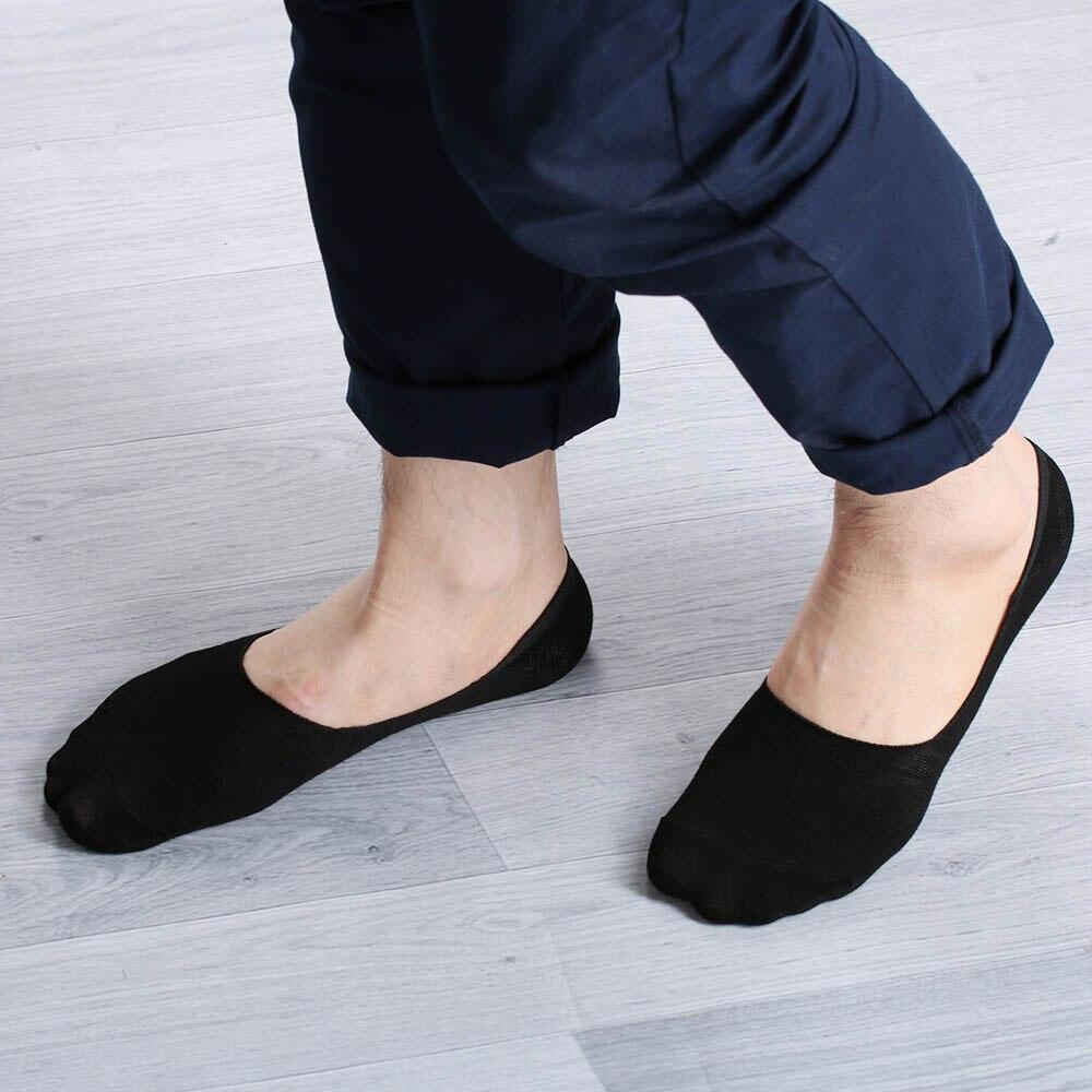 1Pair Casual Men Loafer Boat Non-Slip Invisible Short Socks No Show Nonslip Liner Low Cut Cotton Soft Socks корсет хот шейперс