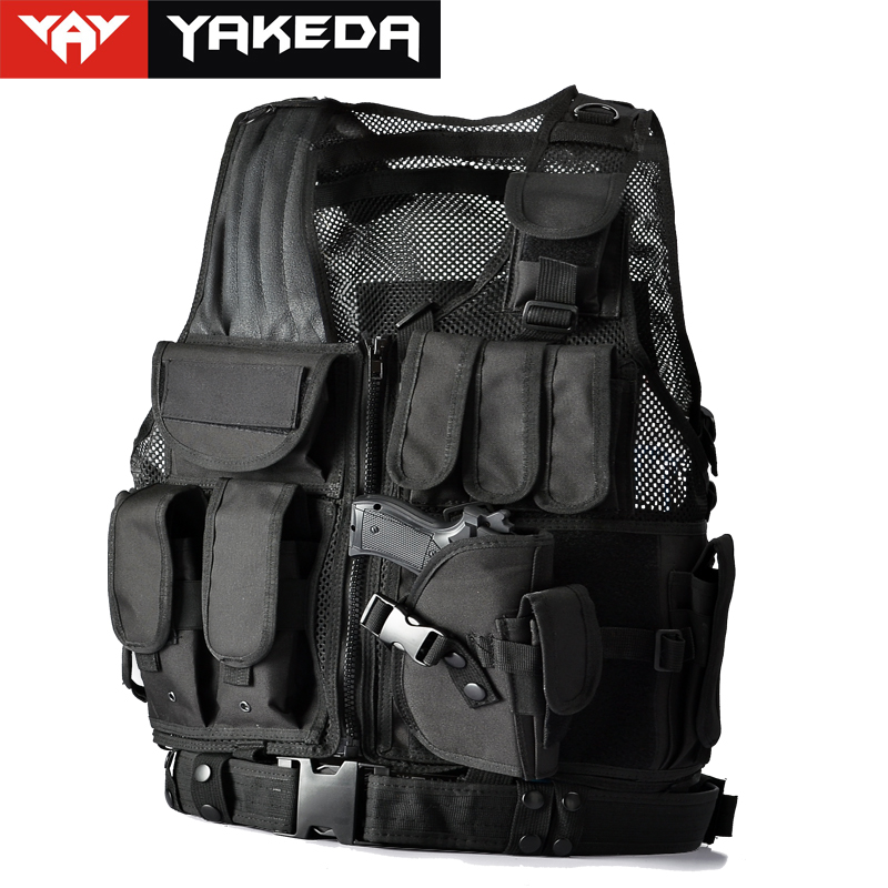 2016 Police Military Tactical Vest Wargame Body Armor Sports Wear Hunting Vest CS Outdoor Products Equipment with 5 Colors transformers tactical vest airsoft paintball vest body armor training cs field protection equipment tactical gear the housing