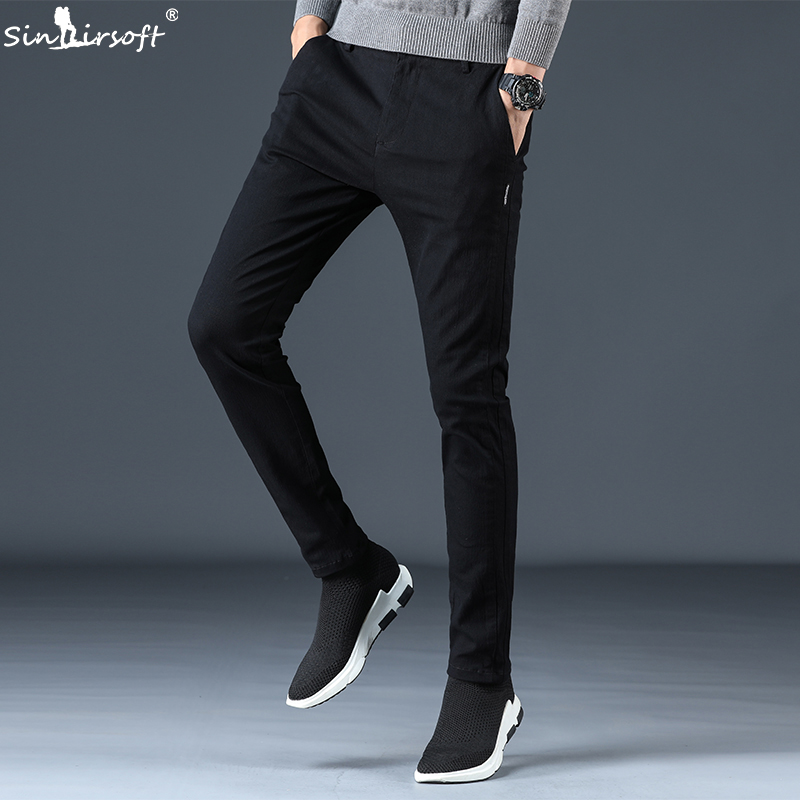 Jogger Baggy Pants Mens Sweat Trousers Men's Slim Casual Men Clothing Cargo Sweatpants Pantalon Homme Mens-pants Stretch Pant