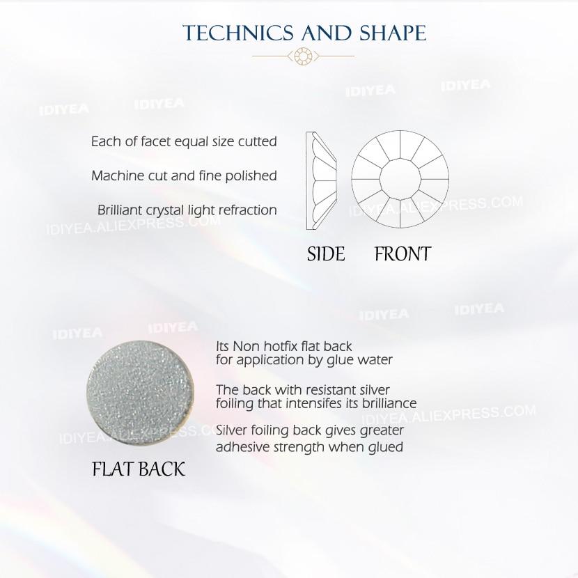 Prozirne mješavine SS3-SS10 SS4-SS30 kristali za ukrašavanje - Umjetnost, obrt i šivanje - Foto 6