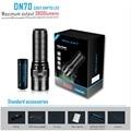 IMALENT DN70 USB Oplaadbare CREE XHP70 3800 Lumen 325 Meter LED Zaklamp door 26650 Batterij