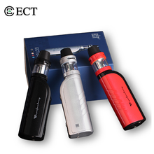 Electronic Cigarette ECT B40 Vape Starter Kit with 2200mAh Battery Adjustable Wattage 40w Box Mod 2ml Kenjoy Tank Atomizer Vapor original marvec mv pod starter kit with led screen 400mah adjustable wattage battery mod 2ml cartridge e cigarett vape pen vapor