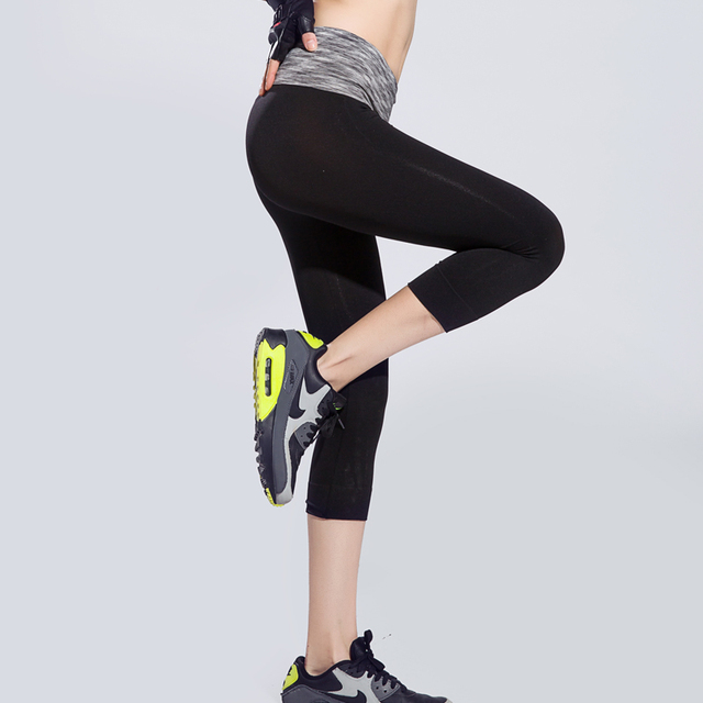 Hot Sale Quick Dry Women Ladies Workout Leggings Fitness High Elastic Waist Patchwork Gyming Exercise Runs Women's Leggings