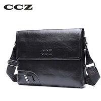 CCZ моды сумка для мужчин мягкая искусственная кожа crossbody сумка бизнес случайный стиль сумки мешок для подарка sl8007