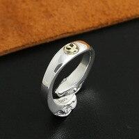 Eagle Punt Eagles hoofd ring opening 925 sterling zilver 925 Sieraden voor vrouwen wedding ring fijne vintage sieraden 2016 Nieuwe GY110