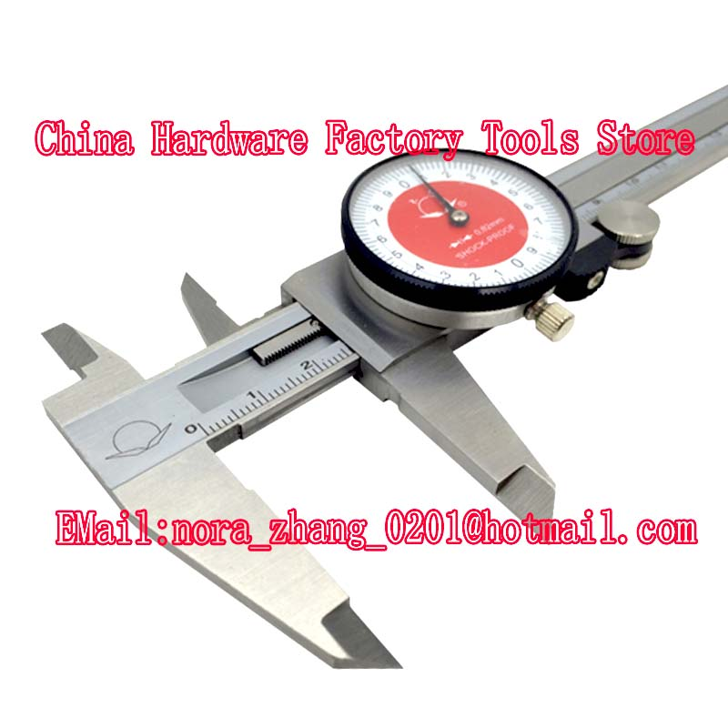 цена на Good Dial Caliper 0-150mm/0.02 Shock-proof Metal Vernier Caliper Metric Micrometer Gauge Measuring Tool