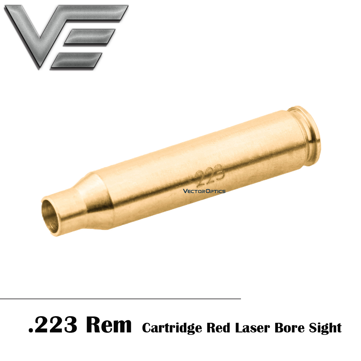 Vector Optics .223 REM 5.56mm Caliber Red Laser Bore Sight Tactical Accuracy Free shipping Laser Boresighter For Riflescope Air