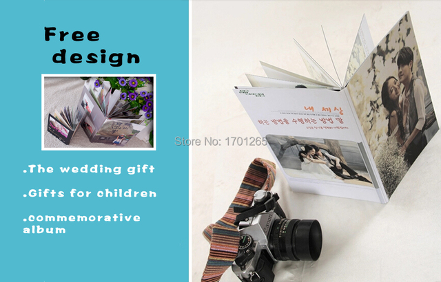 Top Quality Custom Photo Album Free Design Service 10inch Child