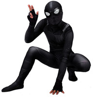 Night Monkey Man Child Cosplay Costume Spider Man: Far From Home Stealth Suit Peter Parker Adult Tights Superhero Onesies