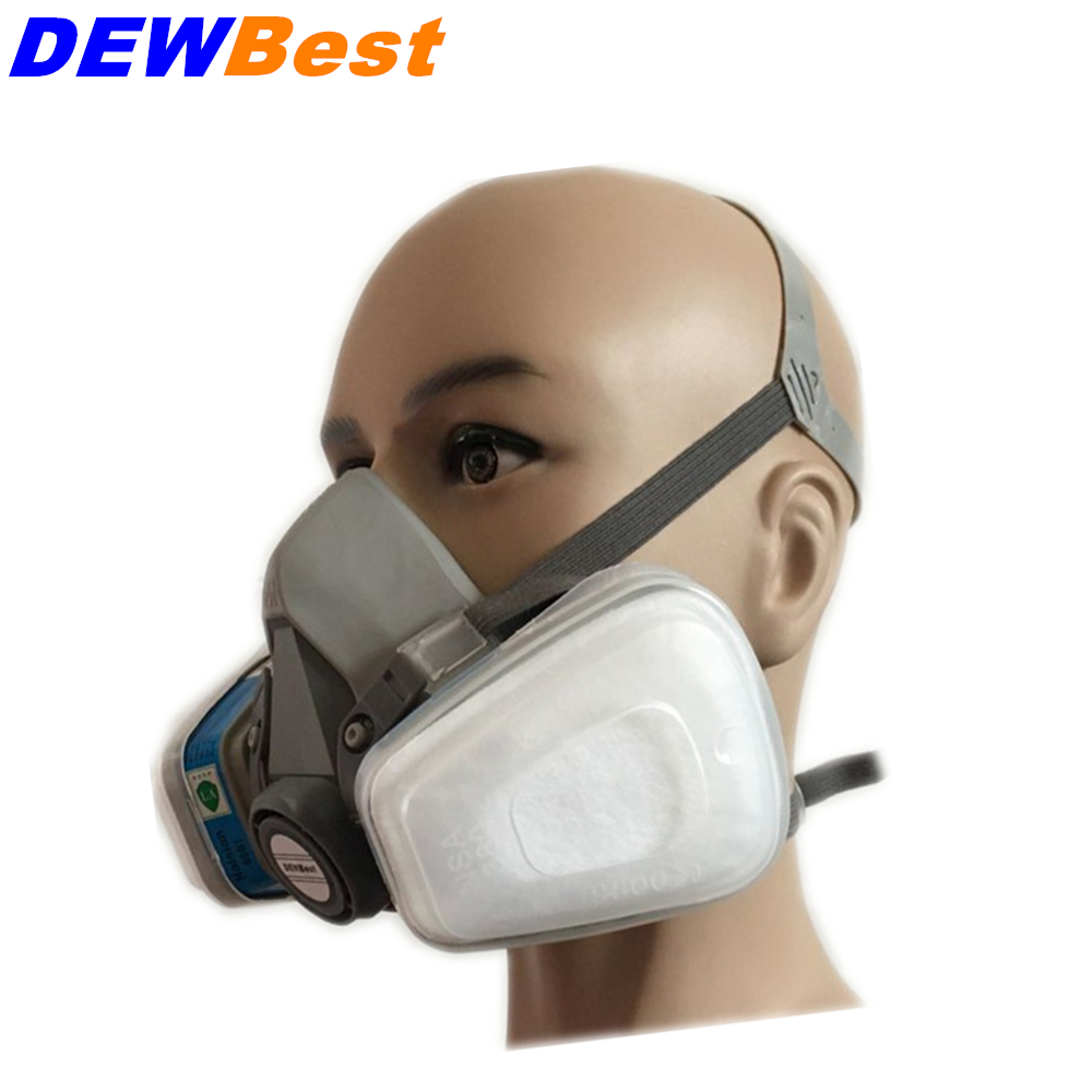 Anti Dust Gas Dual Paint Mask Filter Protection Chemical