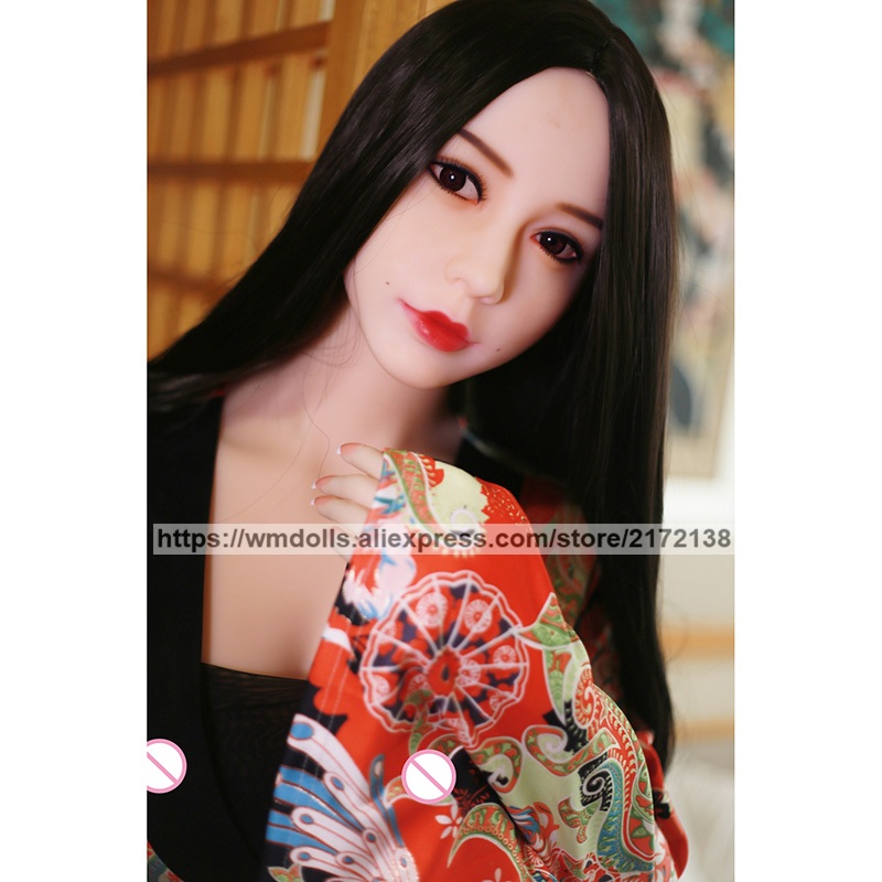 WMDOLL 168cm Realistic TPE Sex Dolls Silicone Japanese Anime Sex Robot Adult Love Doll Big Breast Sex Toys For Men in Sex Dolls from Beauty Health