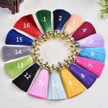 Good quality Artificial Silk Tassel Charm Necklace Earring Tassels DIY For Jewelry Finding Accessories 36pcs/lot