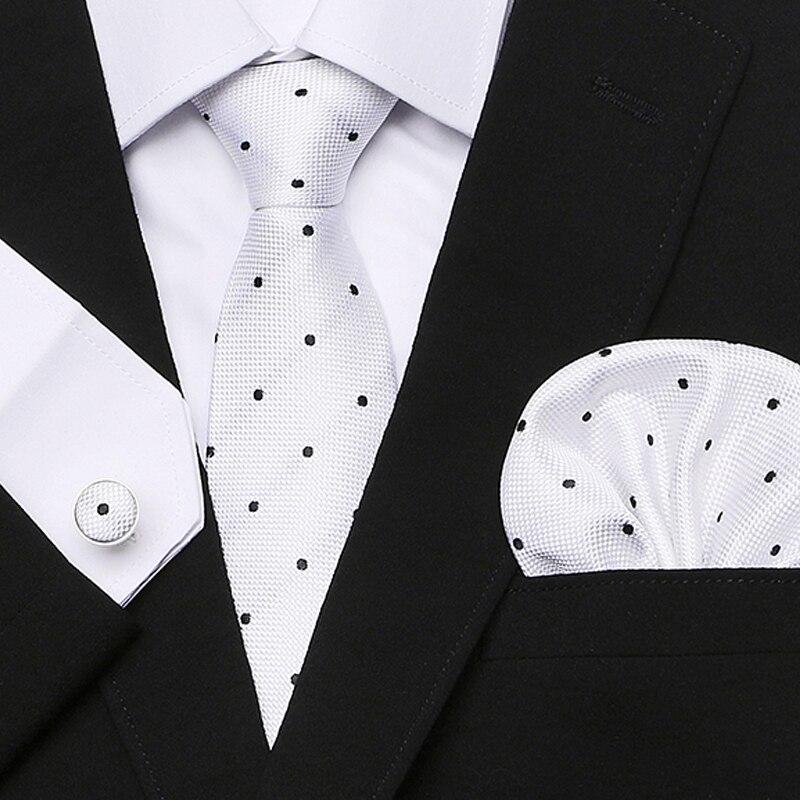 Purple plaid Geometric Print Neckties For Men 2018 New Designer Social Mariage Business Party Man 39 s Neck Ties Sets in Men 39 s Ties amp Handkerchiefs from Apparel Accessories