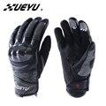 Xueyu motociclismo guantes enduro road moto moto calle deportes de equitación guantes de concha de fibra de carbono bici llena del dedo luvas