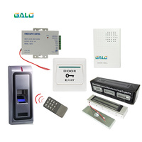 Full Access Control Kits Standalone Metal Case Door lock Biometric Fingerprint Access Control system use Home Building office