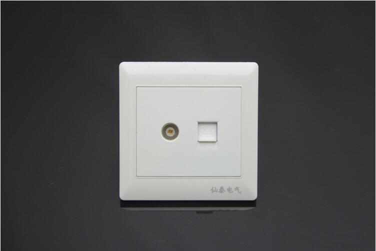 86 type 86*86MM concealed installation electrical Sockets Ethernet ...