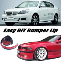 Bumper Lip Deflector Lips For Volkswagen VW Lavida Front Spoiler Skirt For Cars Tuning View / Body Kit / Strip