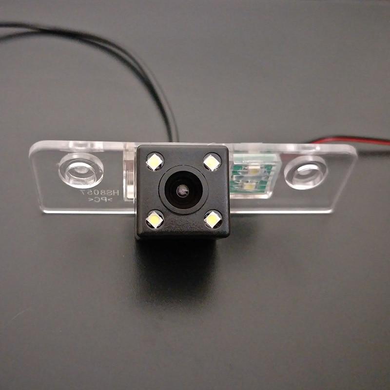 Pour Skoda Octavia II/Toura/A5/Octavia5/Laura/RCA Fil HD Objectif Grand Angle CCD nuit Vision Vue Arrière Camer