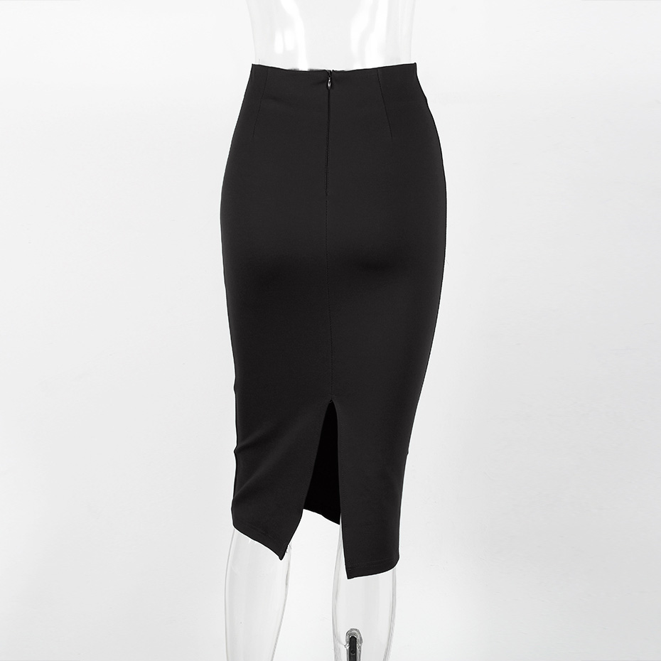 Elegant High Waist Skirt