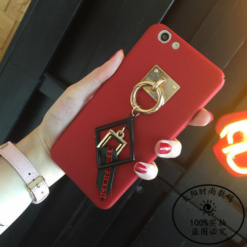 Metal Box Rope Tassel Decorate Tassel Skin Hard Cover Case For huawei honor 8 Lite V8 V9 6X Maimang 5