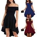 2017 nova moda plus size mulheres do vintage verão dress preto/branco/azul barra neck retro elegante party dress feminino vestidos