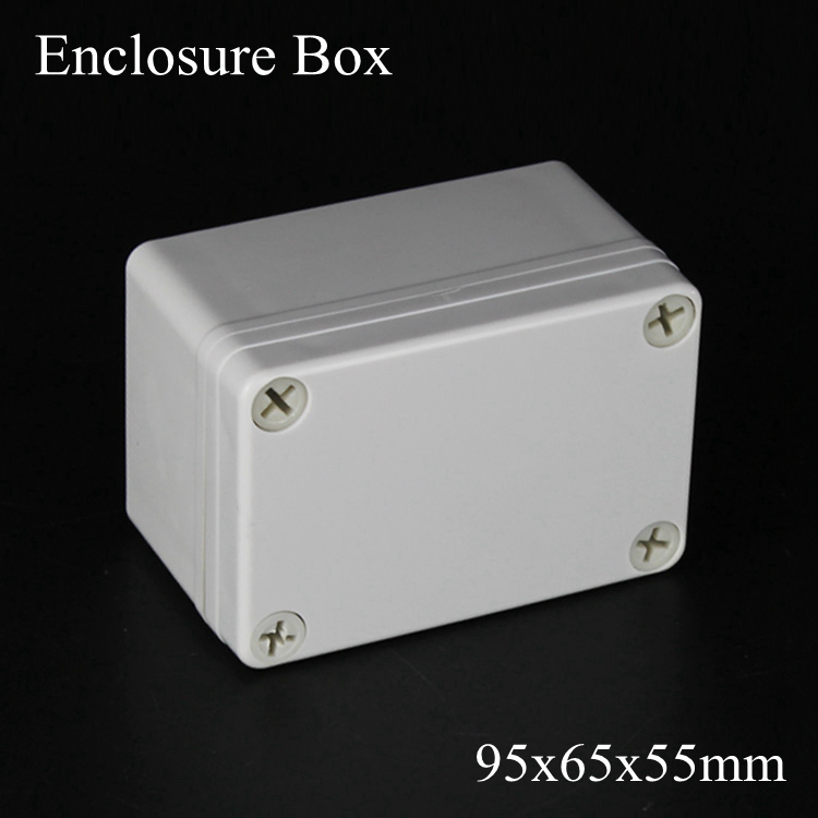 95*65*55MM IP67 New ABS electronic enclosure box  Distribution control network cabinet switch junction outlet case 95x65x55MM 175 175 100mm ip67 abs electronic enclosure box distribution control network cabinet switch junction outlet case 175x175x100mm