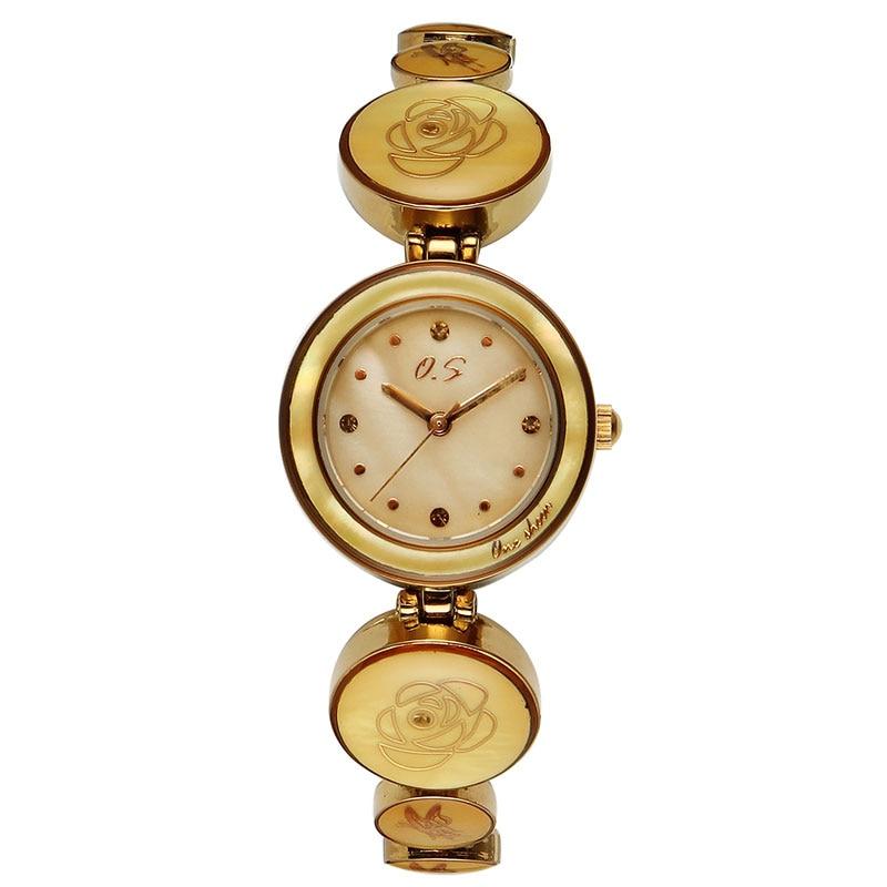 relogios Fashion Simple Women Bracelet Watches Waterproof Small Dial Abalone Bracelet Quartz Watches Ladies Wrist Watches Clock