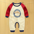 baby clothes new 2016 infant baby cartoon long sleeve winter rompers,open files cute bear cotton jumpsuits