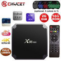 Chycet X96 Mini Android 7 1 Smart TV BOX 1GB 8GB 2GB 16GB Amlogic S905W Quad