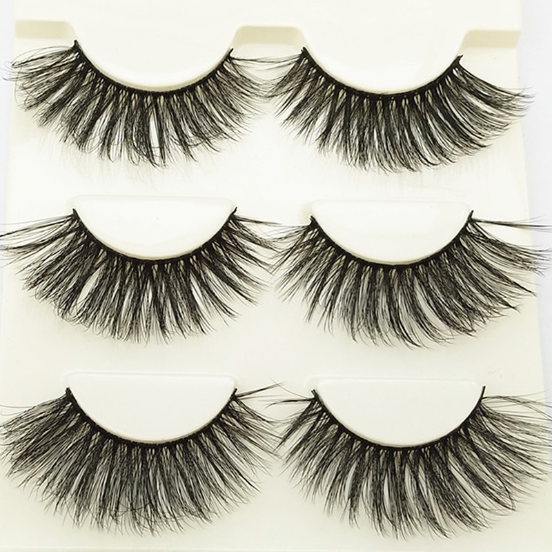 YOKPN Thick Crisscross Fake Eyelashes Stage Makeup Bushy Lashes Multilayer 3D False Eyelashes Pure Handmade Long Volume Eyelash