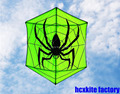 Envío de la alta calidad cometa hexagonal araña kite with10m colas weifang kite hcxkite fábrica varilla de carbono ripstop nylon