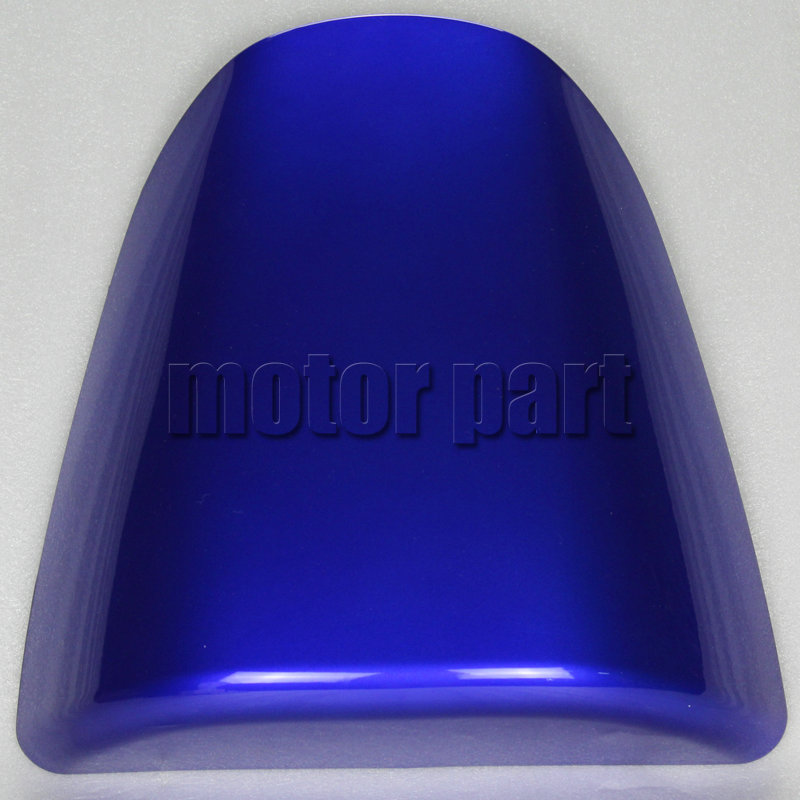 For 1996-1999 Suzuki GSXR600 GSXR750 GSXR 600 750 Motorcycle Pillion Rear Back Seat Cover Cowl Fairing Blue 96 97 98 99 motorcycle pillion rear seat fairing cover cowl for honda cbr250r 2011 2012 2013