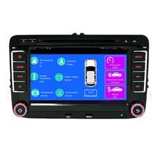 7″ Quad core 1.6GHz 2G RAM Android vw car dvd for Polo Jetta Tiguan passat b6 B5 cc skoda octavia fabia