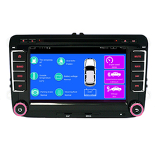 Free Shipping Wholesales Android 5 1 4G Car DVD Player GPS Radio for VW Polo Jetta